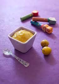 recette cuisine bébé compote de mirabelles pour bébé à partir de 6 mois biodélices