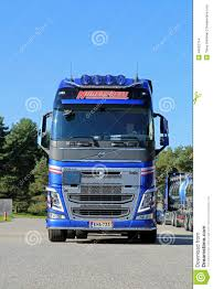 new volvo truck new volvo fh tank truck front view editorial stock image image