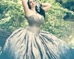 Fairytale Halloween Favorites Ombre Wedding Dress Steampunk Fairytale Gown Gradient Moon