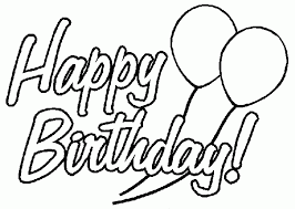 birthday coloring pages printable kids coloring birthday coloring