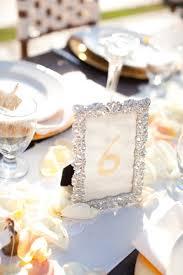 numero table mariage mariage vintage dans des tons pêches mariage idées