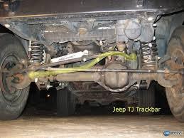 original jeep cherokee jeep track bar install