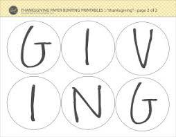 diy thanksgiving decoration craft free printables lce