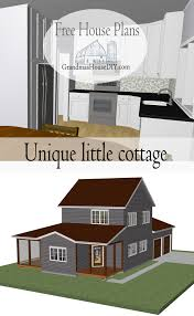 old world english cottage house plans