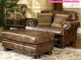Metropolitan Glider And Ottoman Leather With Ottoman Leather With Oversized Ottoman