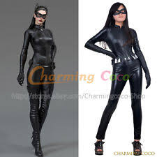 Catwoman Halloween Costume Dark Knight Rises Leather Catwoman Costume Ebay