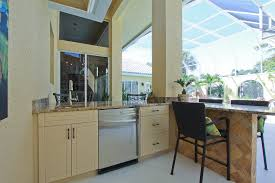 Tropical Kitchen Design Outdoor Tropical Kitchen Remodel Bonita Bay Fl Progressive