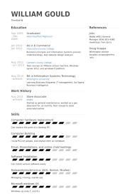 Vmware Resume Store Associate Resume Samples Visualcv Resume Samples Database
