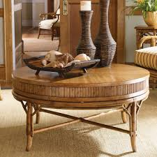 Tommy Bahama Sofas Tommy Bahama Beach House Oyster Cove Round Golden Umber Wood