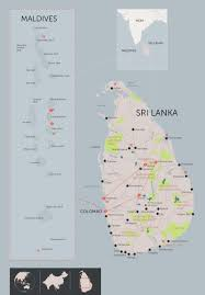 Sri Lanka Map Blank by Best Of Sri Lanka And The Maldives Beach Adventure Andbeyond