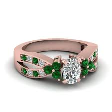 preset engagement rings preset intertwined pave 1 25 ct engagement ring with