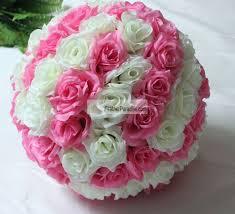 flower pomander wedding decoration silk