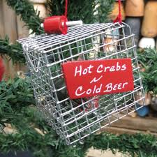 crab pot ornaments stbeachfinds handmade