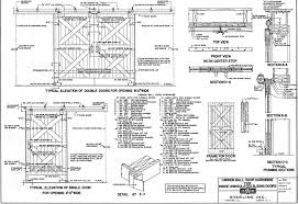 barn door plans u2013 small farmer u0027s journal