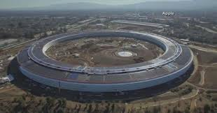 apple u0027s new campus is nearly finished