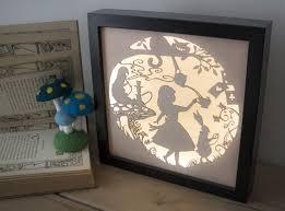 Laser Cut Lamp Shade Uk by Livingetc Loves Noah And The Bear U0027s Alice In Wonderland Light