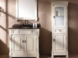 Bathroom Cabinet With Hamper Bathrooms Design Bathroom Linen Storage Tall Corner Cabinet With