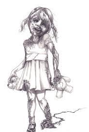 zombie drawing jmg creations