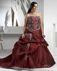 plus size burgundy bridesmaid dresses burgundy plus size wedding gown beaded embroidery bridal gown plus