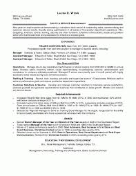 resume examples for retail management the best letter