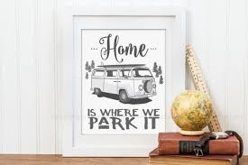 rv camper decor camper home home is where we park it zoom