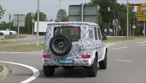 2018 mercedes g class w463 to debut at naias 2018 report