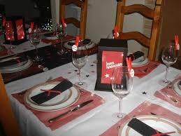 deco de table pour anniversaire déco anniversaire 18 ans en rouge et noir idees et merveilles