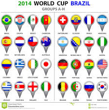 Flags Of All Nations World Cup Fever L U0027ennemi