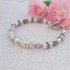 mothers bracelets with birthstones floating rings bracelets in bali sterling silver and free