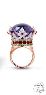 sted rings big purple ring jewelry trends purple rings