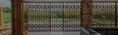 sequre trellis retractable security gates security doors