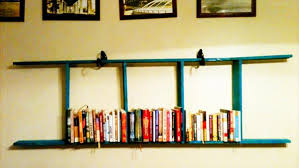 Best 25 Ladder Shelf Decor by Pallet Wood Ladder Bookshelf 101 Pallets Regarding Wooden Ladder