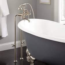 brunswick freestanding tub faucet u0026 hand shower bathroom