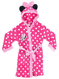 disney minnie mouse robe de chambre minnie mouse fille 5 a 6