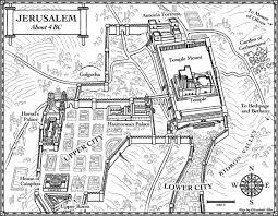 Map Of Jerusalem New Maps U2013 Jerusalem In 4 Bc And 21st Century Elisabeth Alba
