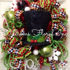 Decorating Christmas Wreaths With Mesh by 236 Best Christmas Wreaths Images On Pinterest Christmas Ideas