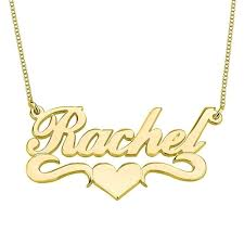 custom necklace pendants personalized name necklace pendants in 18k gold plated custom made