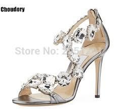 Rhinestone Sandal Heels Compare Prices On Rhinestone Sandals Wedding Online Shopping Buy