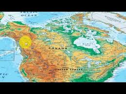 america map in world geography through map in america part 1 for upsc