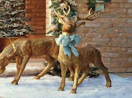 christmas outdoor reindeer images reverse search