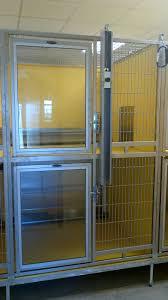 shor line t kennel double decker kennel with galvanized steel gate