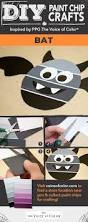 Halloween Decorations Arts And Crafts 46 Best Halloween Paint Chip Diy Crafts Images On Pinterest