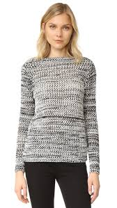 derek lam 10 crosby cross back sweater shopbop