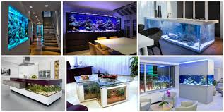 22 beautiful interiors with spectacular aquariums you have to see