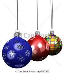 clip of ornament decorations set 3d decorations
