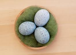 speckled easter eggs paint dye speckled easter eggs
