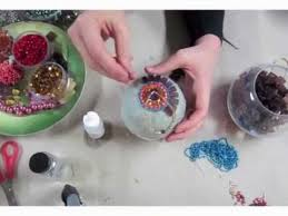 sharra frank s mosaic class jeweled ornaments