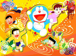 wallpaper doraemon the movie doraemon and nobita animated cartoon movie wal 2986 wallpaper
