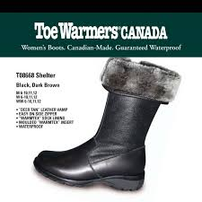 s narrow boots canada toe warmers s shelter black leather 0197 150 00 slim