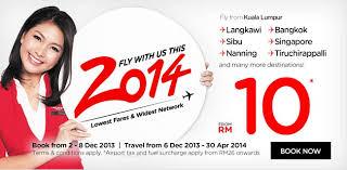 airasia singapore promo air asia 2014 promotion fly to langkawi sibu nanning bangkok